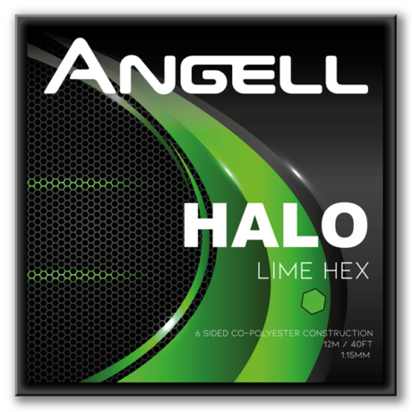 Halo Lime Hex String